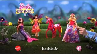 Princesse Magique Alexa, Sirène Romy et Fée Nori - Barbie La Porte Secrète - FR