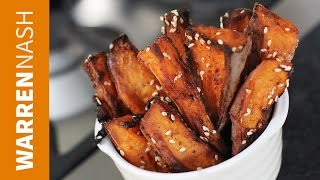 Sweet Potato Fries Recipe - Oven Baked - Recipes By Warren Nash