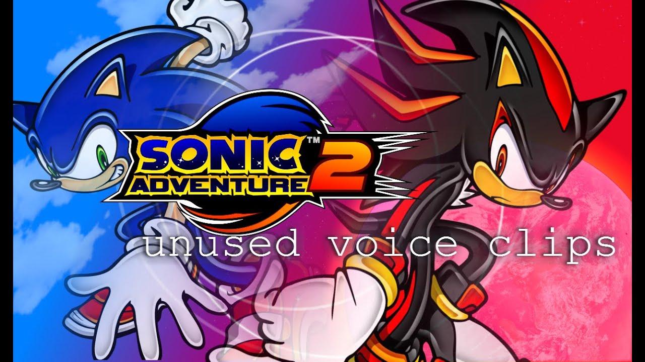 sonic adventure 2 unused voice clips youtube