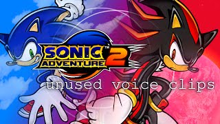 Sonic Adventure 2 Unused Voice clips