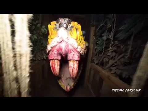 [4K] Arachnophobia Haunted House Woods Of Terror North Carolina Walkthrough Highlights