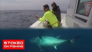 Stoked On Fishing Charters Lands A Monster Southern California Bluefin Tuna | Stoked On Fishing