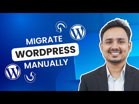 How To Manually Migrate Your WordPress Website | WordPress Bangla Tutorial