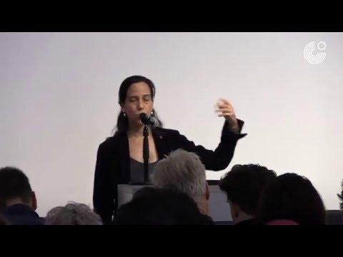 Jimena Canales at IMAGES OF SURVEILLANCE at the Goethe-Institut New York