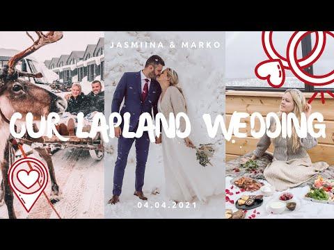 WINTER WEDDING IN LAPLAND - Star Arctic Hotel, Saariselkä, Finland