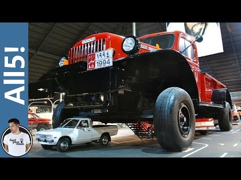 5 Largest Vehicles In The World!