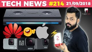Huawei Vs. Apple, RealMe 2 Pro, Echo Auto,Free Cricket on JioTV, GoPro Hero 7, Vivo V9 Pro-TTN#214
