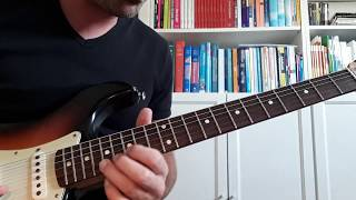 e lydian improvisation, electric guitar, fender road worn 60-s stratocaster (steve vai style)