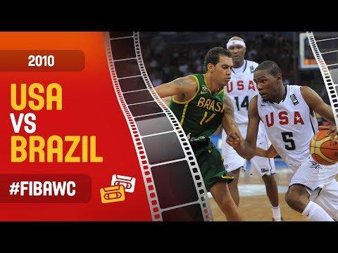 USA Vs BRAZIL - Full Game - FIBA Basketball World Cup 2010
