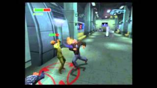PS2 Minority Report - 32 - Summoner Mosely Boss Battle