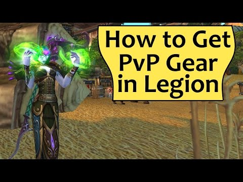 PvP Gear in Legion