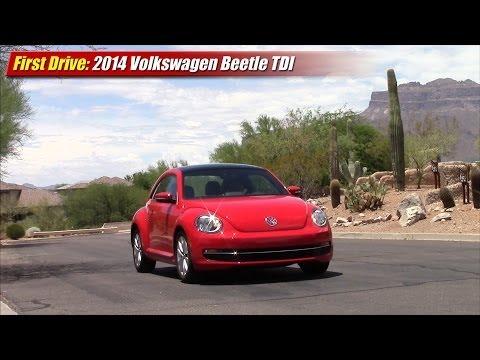 First Drive: 2014 Volkswagen Beetle TDI Clean Diesel