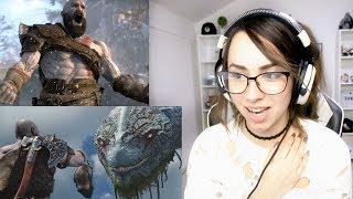 God of War | Story Trailer + Release Date | PS4 REACTION !!!