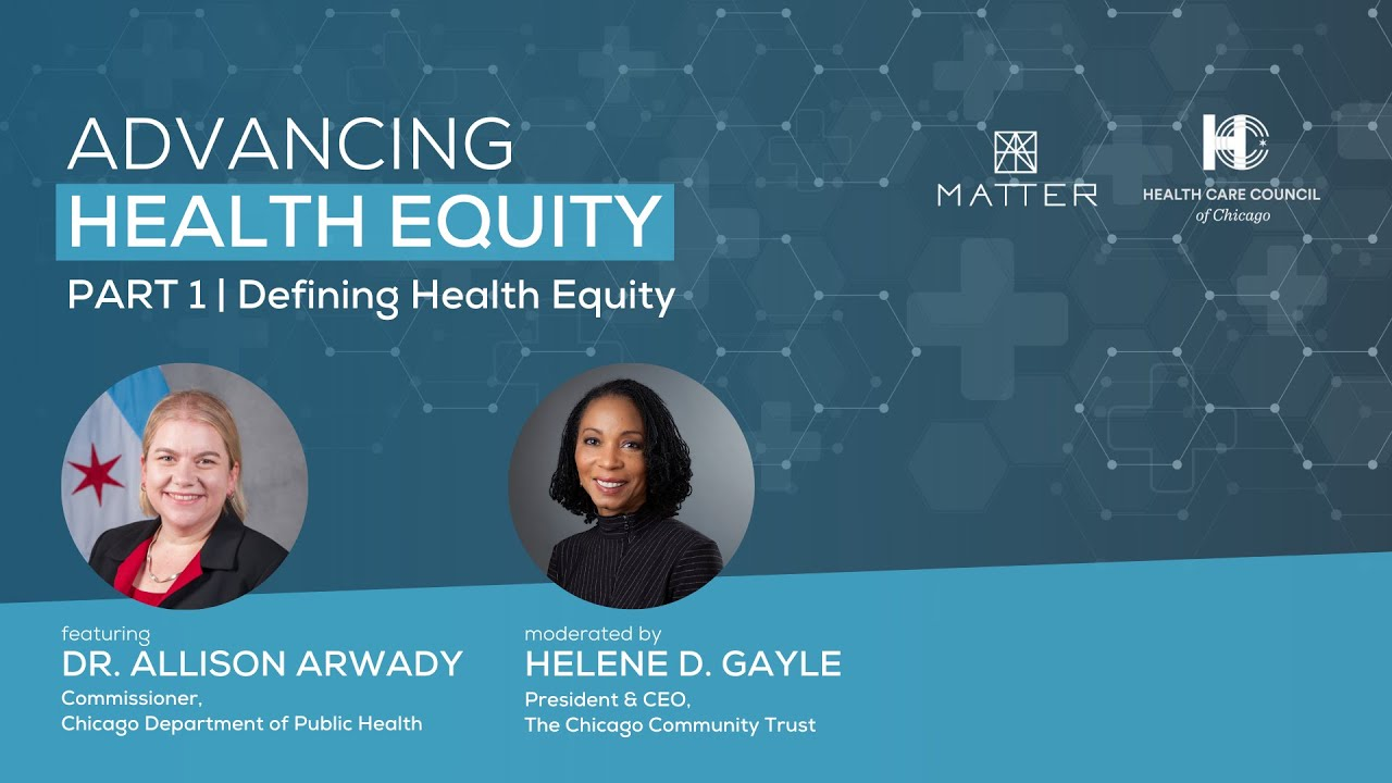 Event Recap | Advancing Health Equity Series: Defining Health Equity | 4.14.2021