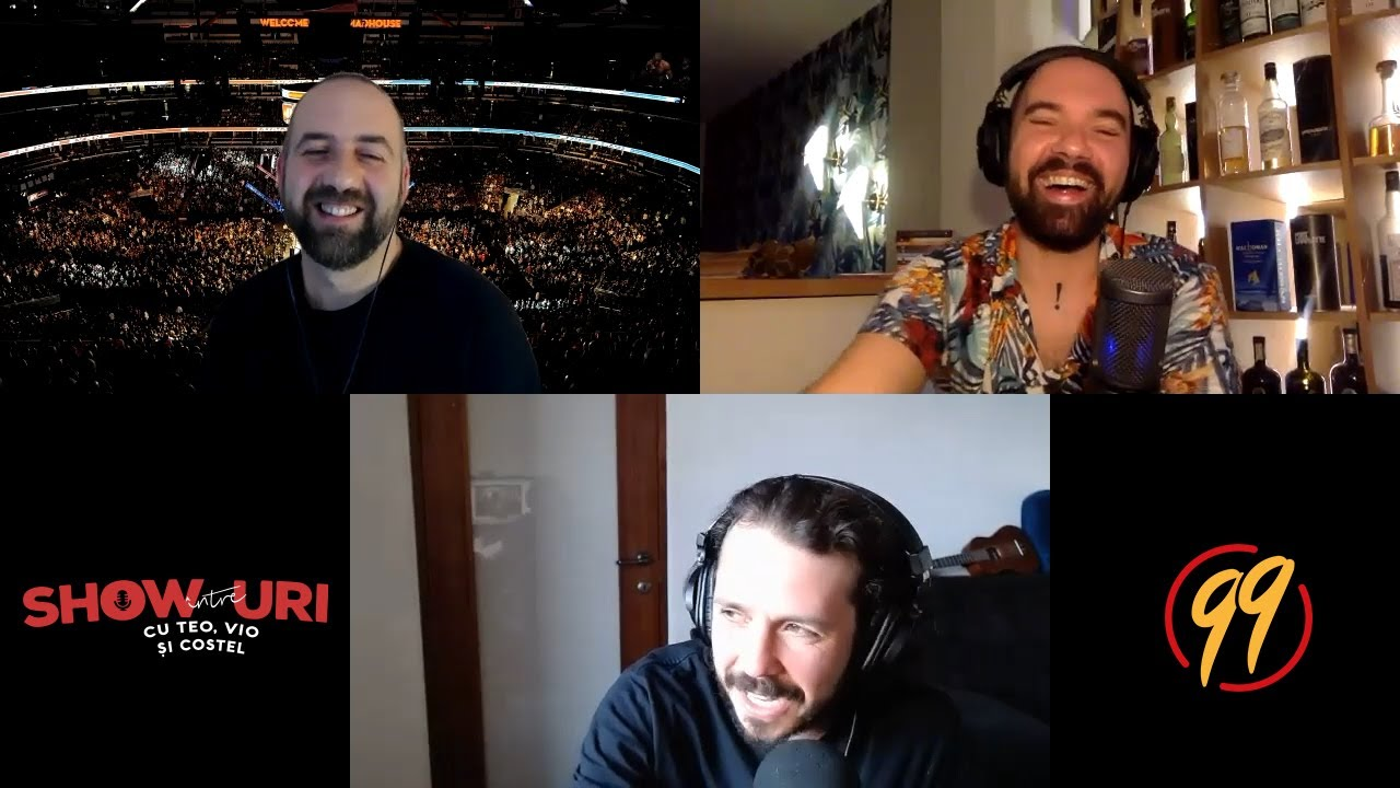 Podcast #313 | Racordat la trening | Între showuri cu Teo, Vio și Costel
