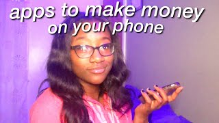 APPS TO MAKE MONEY FAST 2020! how to make money as a teenager *even during quarantine*
