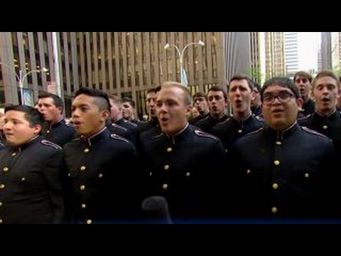 Texas A&M Singing Cadets perform 'God Bless America'