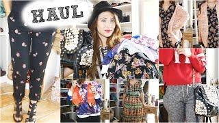 Haul: Compras de Otoño 2014!! Ropa, bolsos.. Huge Fall Haul!!