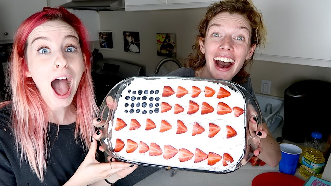 TRYING FOURTH OF JULY DESSERTS