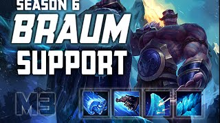 How to Play Braum Support Season 6 League of Legends Guide