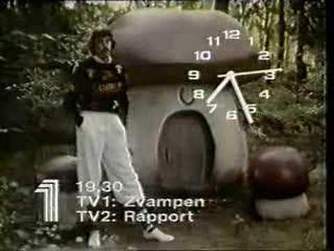 Klocka TV1 1986-06-13
