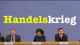 5. März 2018 - Komplette Bundespressekonferenz (RegPK)