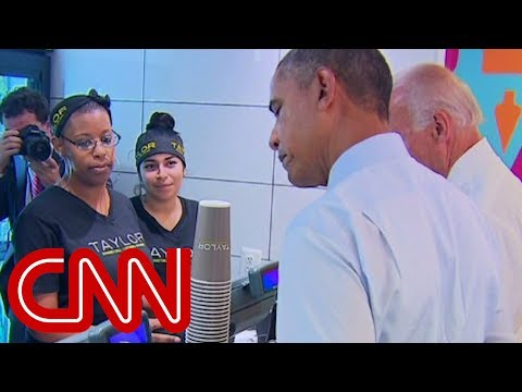 Obama at lunch: That's a tasty cookie right there
