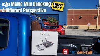 DJI Mavic Mini Unboxing A Different Perspective