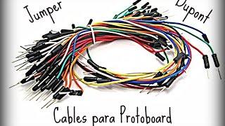 Cables para Protoboard  Caseros (Dupont / Jumper)