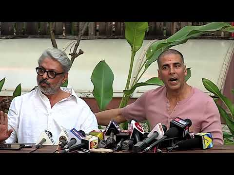 Akshay Kumar And Sanjay Leela Bhansali On Release Dates - PadMan, Padmaavat | Full Press Conference
