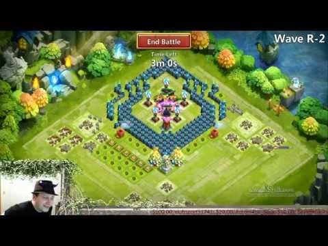 Castle Clash - Farming HBM R No Garrisons