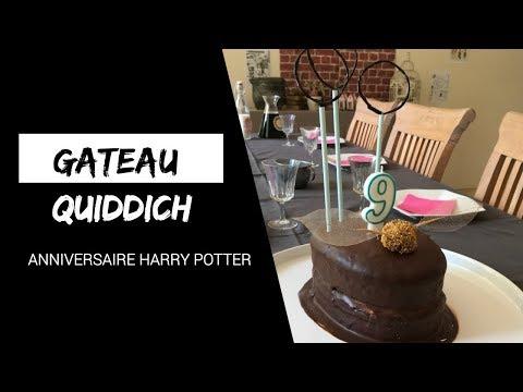 anniversaire-harry-potter---gâteau-terrain-de-quiddich