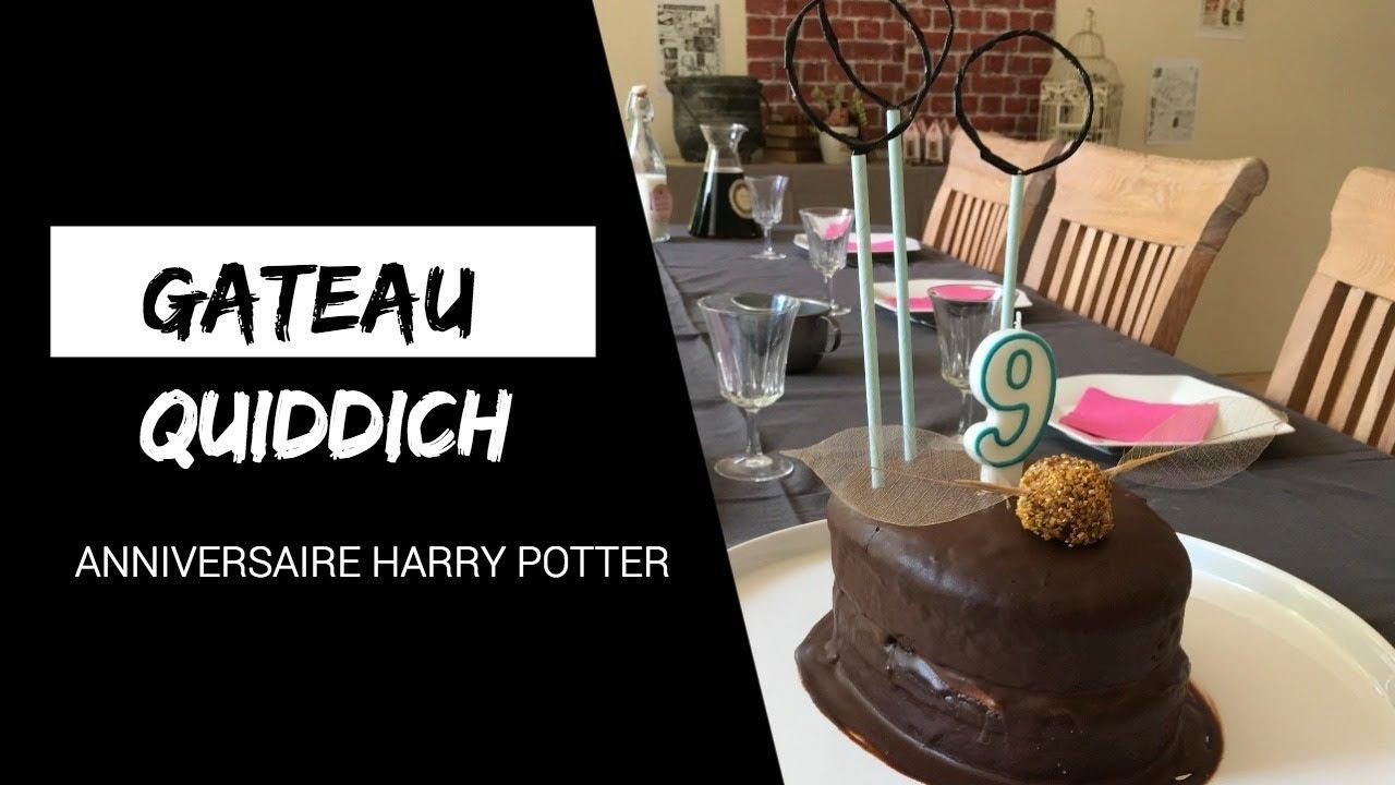 Anniversaire Harry Potter Gâteau Terrain De Quiddich