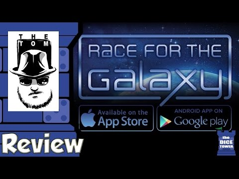 Race For the Galaxy App Review - with Tom Vasel
