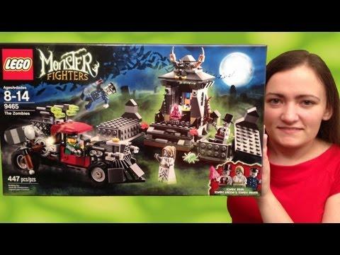 LEGO Monster Fighters 9465 The Zombies LEGO Halloween Review - BrickQueen