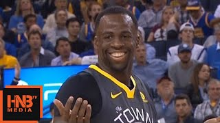 Draymond Green Ejected From The Game / GSW vs Thunder