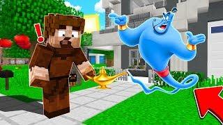 FAKİR ALADDİN'İN SİHİRLİ LAMBASINI BULDU! 😱 - Minecraft