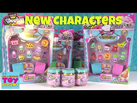 Wave 2 Shopkins Season 6 Chef Club New...