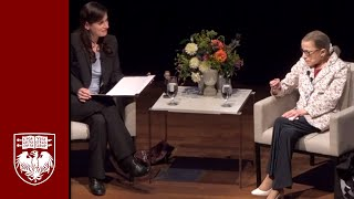 Conversation with Ruth Bader Ginsburg: US Supreme Court Justice Live at UChicago