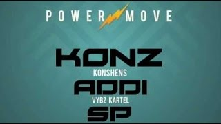 Konshens Ft. Vybz Kartel & Sean Paul - Power Move | Official Audio | November 2016