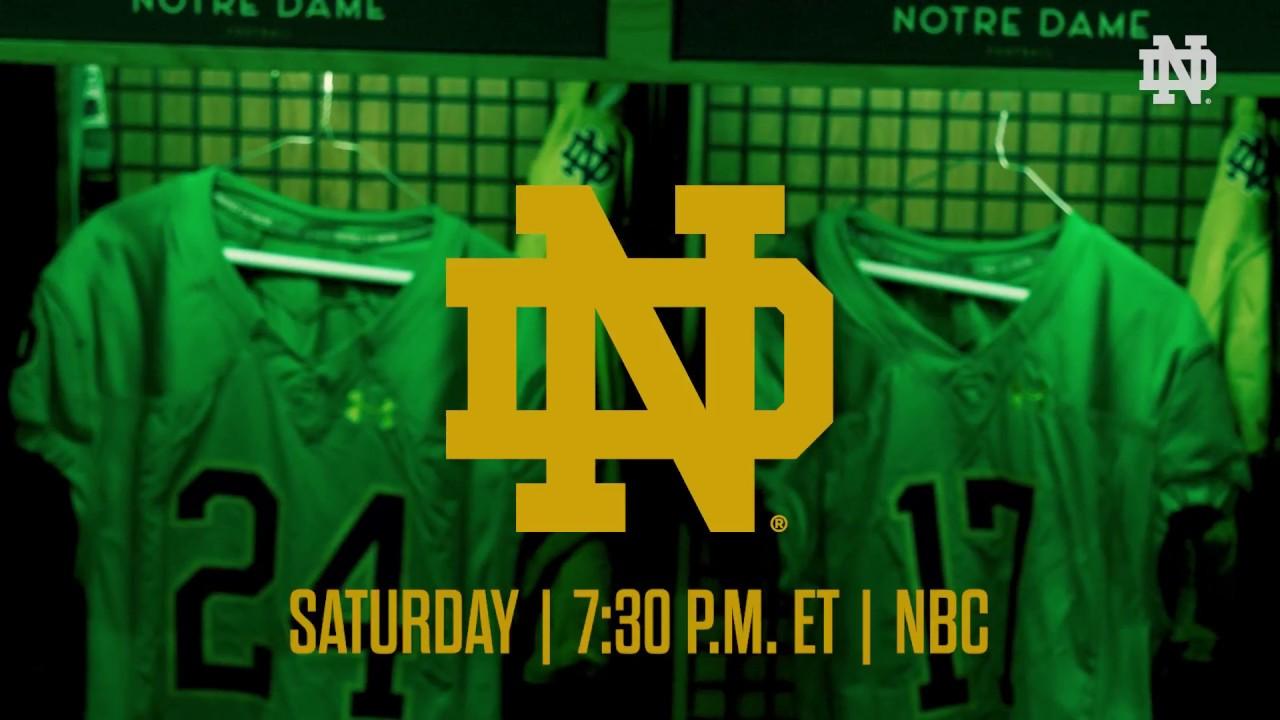 Florida State Seminoles football uniforms vs Notre Dame Fighting Irish