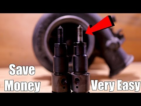 CLEANING 24 VALVE CUMMINS INJECTORS