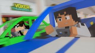 Minecraft: SOZINHOS NO SHOPPING! (Mudando de Vida #8)