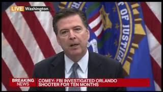 FBI Director: We're 'Confident' Orlando Shooter Was Radicalized