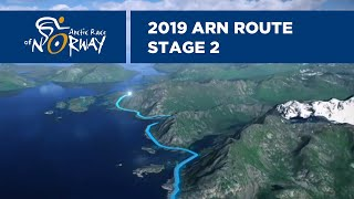 Stage 2 In 3d   Henningsvær To Svolvær  Arctic Race Of Norway 2019