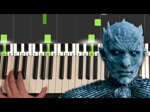 Game of Thrones - The Night King (Piano Tutorial Lesson)