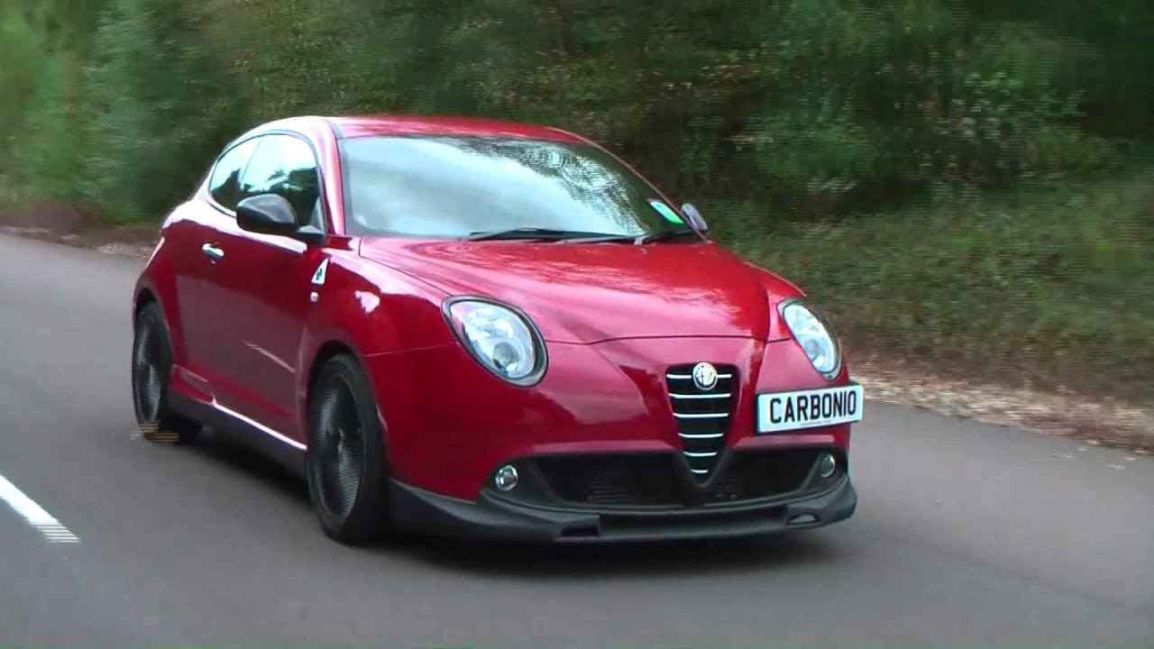 alfa romeo mito carbonio shoot youtube. Black Bedroom Furniture Sets. Home Design Ideas