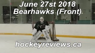 June 27th 2018 Bearhawks Goalie Front View, Bauer Supreme 2S Pro #Tryit