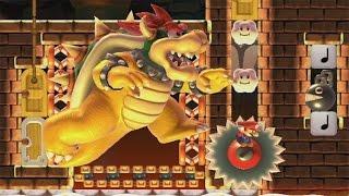 Super Mario Maker - 190s Mario Graduation Course