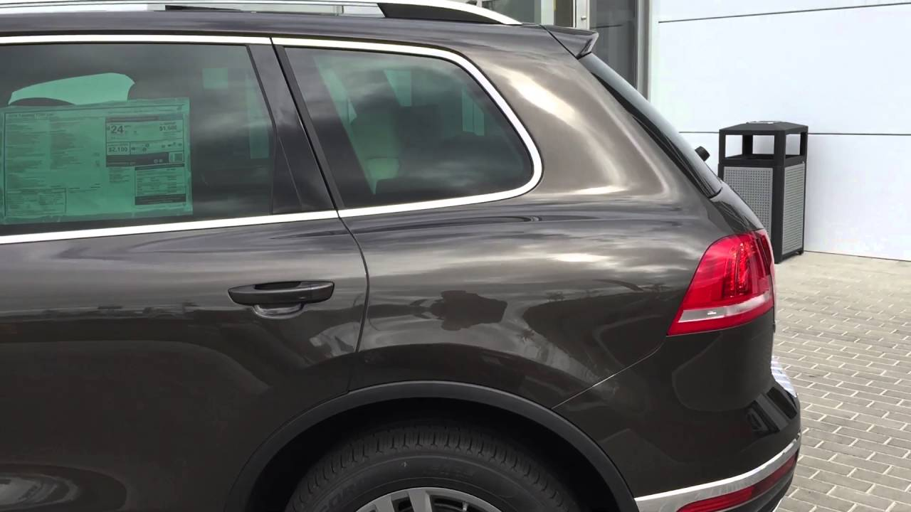 Black Oak Brown Metallic Touareg - YouTube